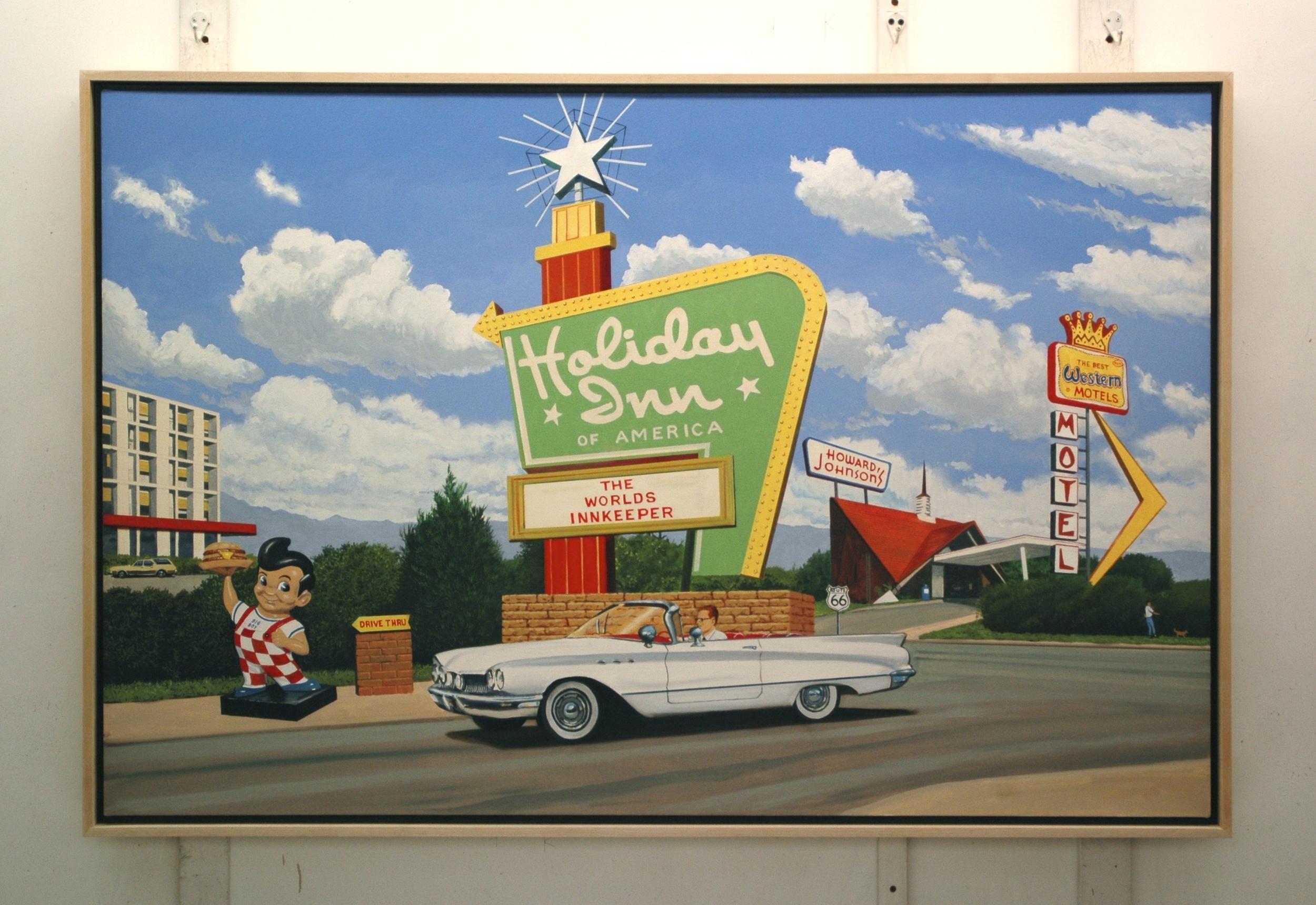 """Daniel Blagg, Private Commission, 2013, oil on canvas, 40 x 60"""". Private Collection, Dallas, TX."""