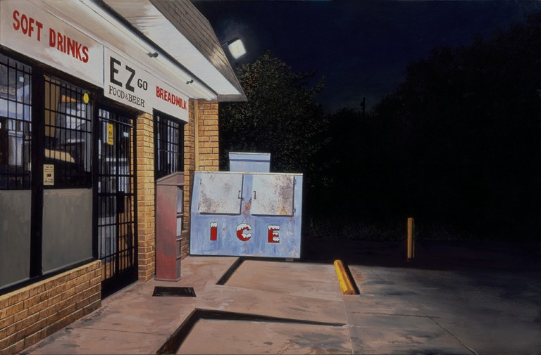 Daniel Blagg,  E.Z.s,  2004, oil on canvas, 40 x 60""