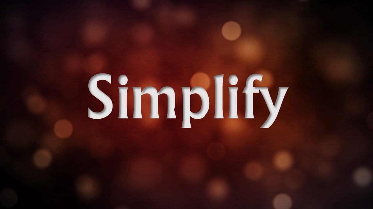 Simplify Sermon Archive
