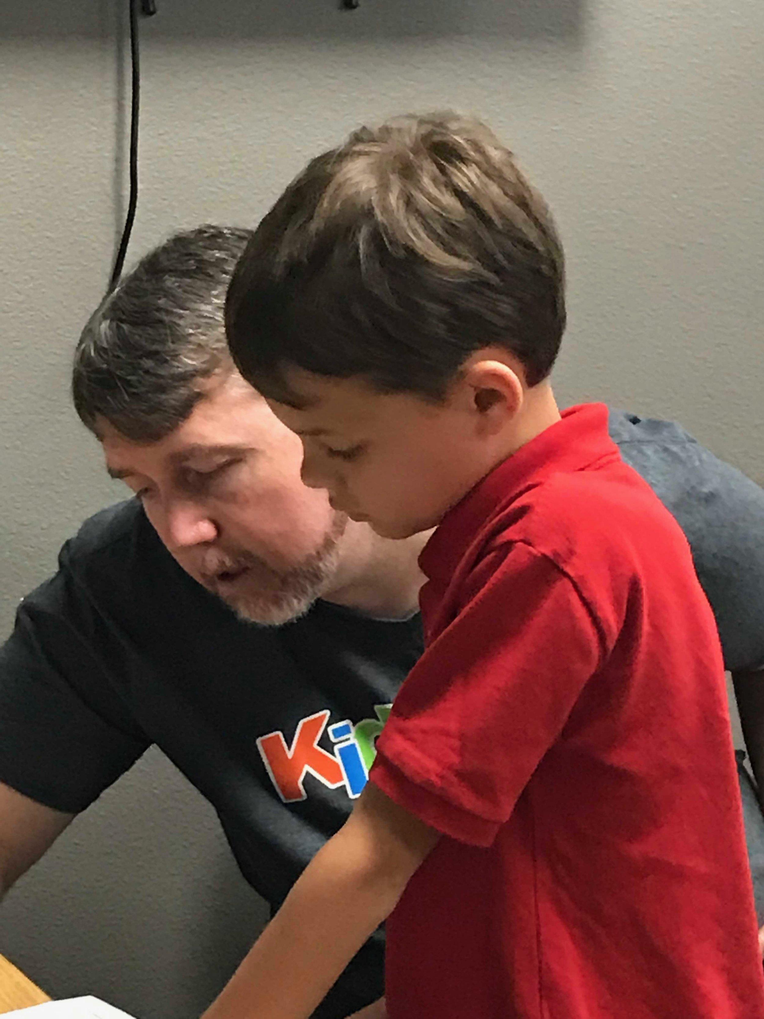 Our teachers love to help our kids grow.