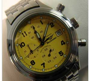 DF-1012 Men's Chronograph. Case Size: 25MM