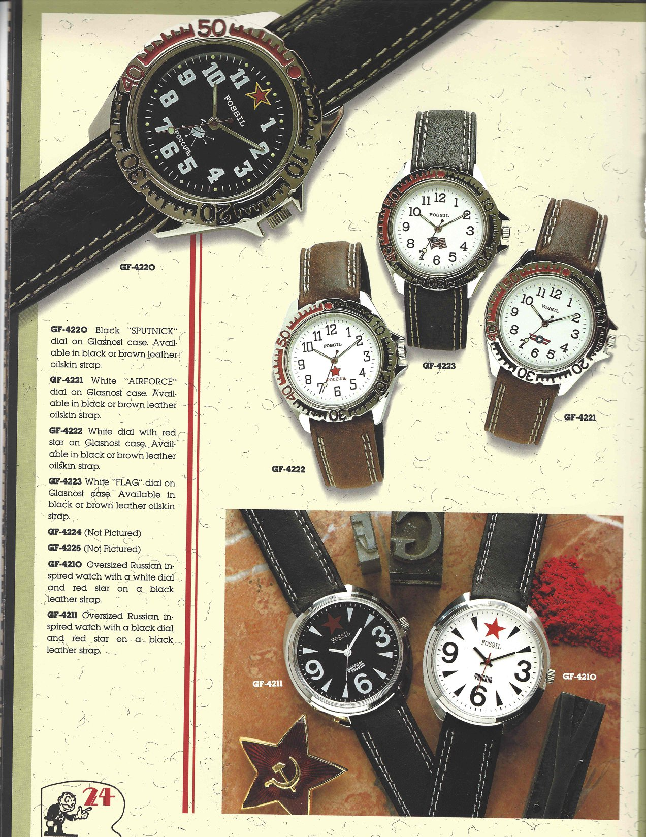Fossil 1989 - Page 24