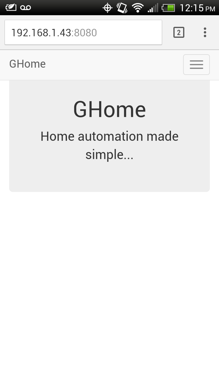 Simple Page Application