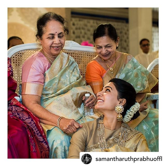 #repost @samantharuthprabhuoffl My favourite pic ... ❤️ . Thankyou for this @raj.rj