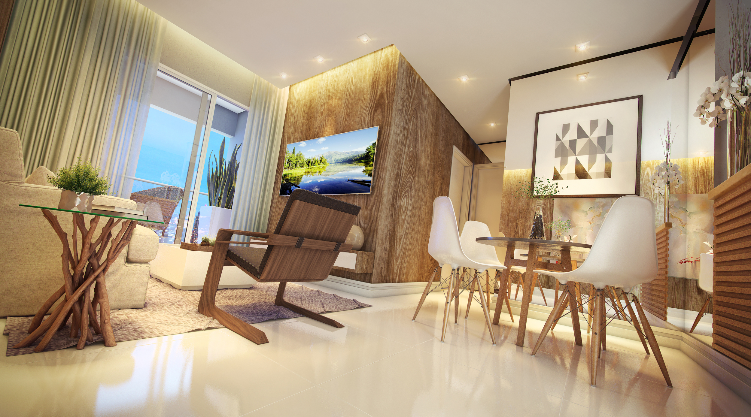 Perspectiva Living room