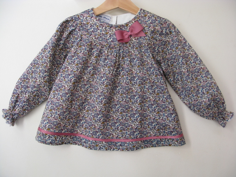 Betsy Anne Liberty print blouse   Available in medium and large