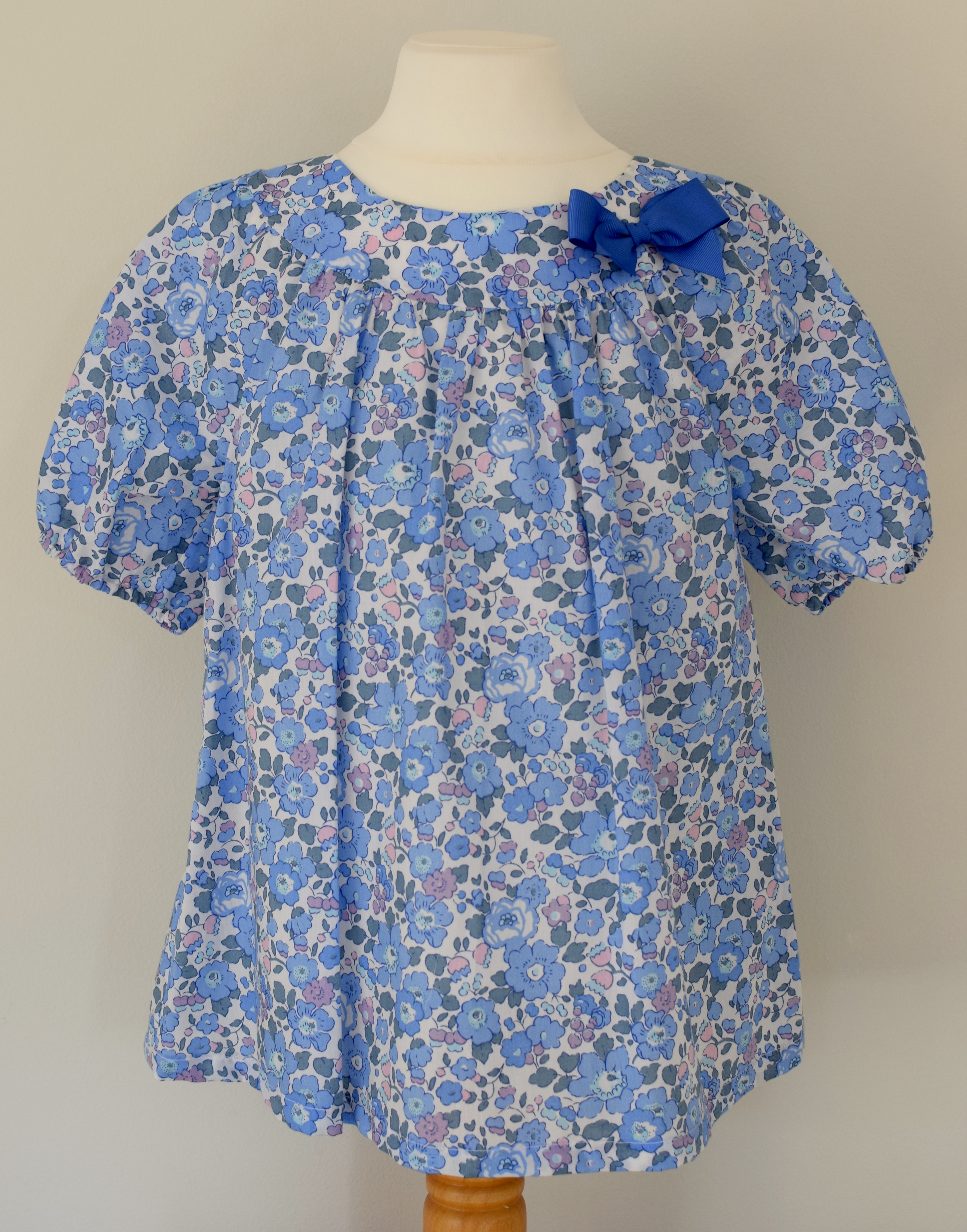Liberty Betsy blue      Available exclusively   in size medium   £36