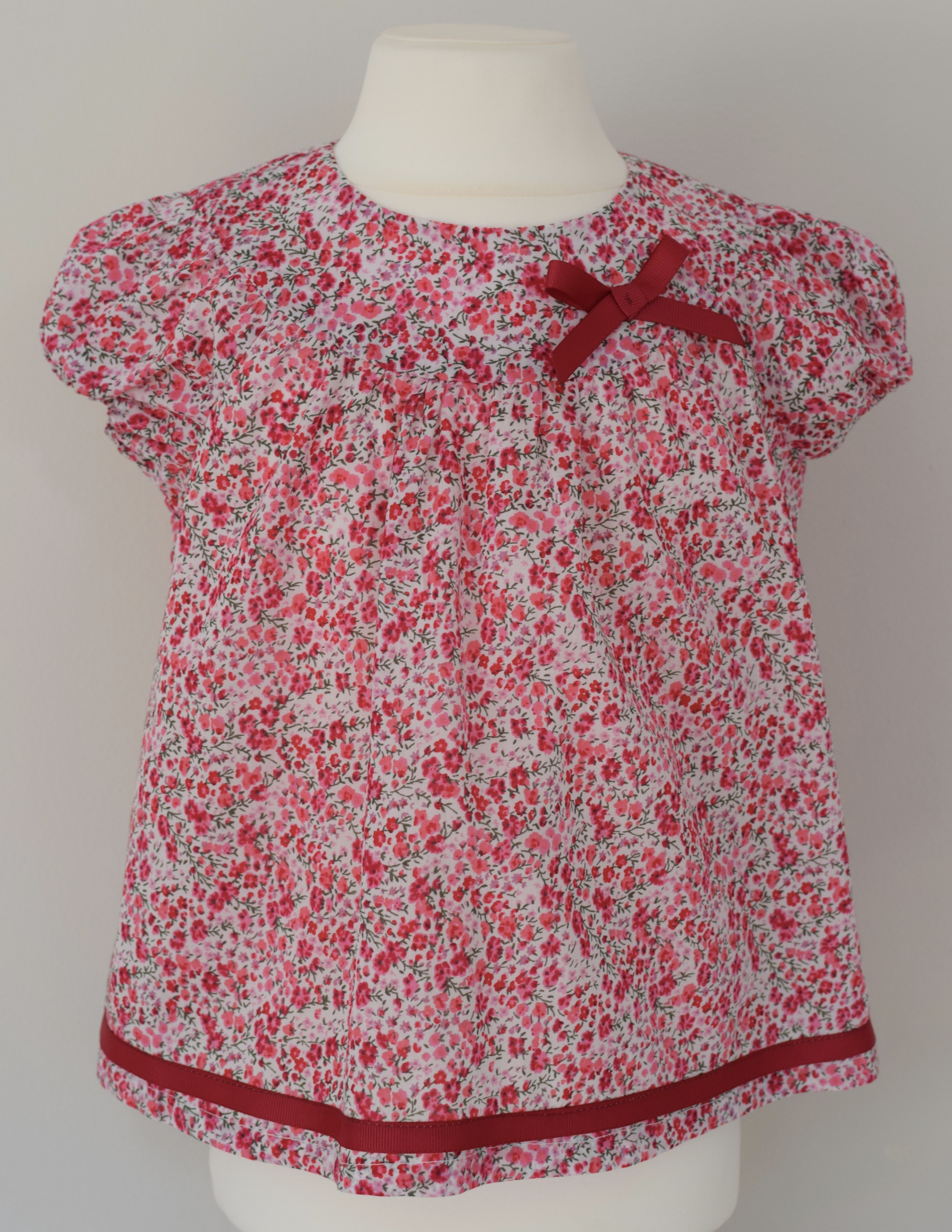 Liberty Phoebe pink    Available exclusively   in size   small £31