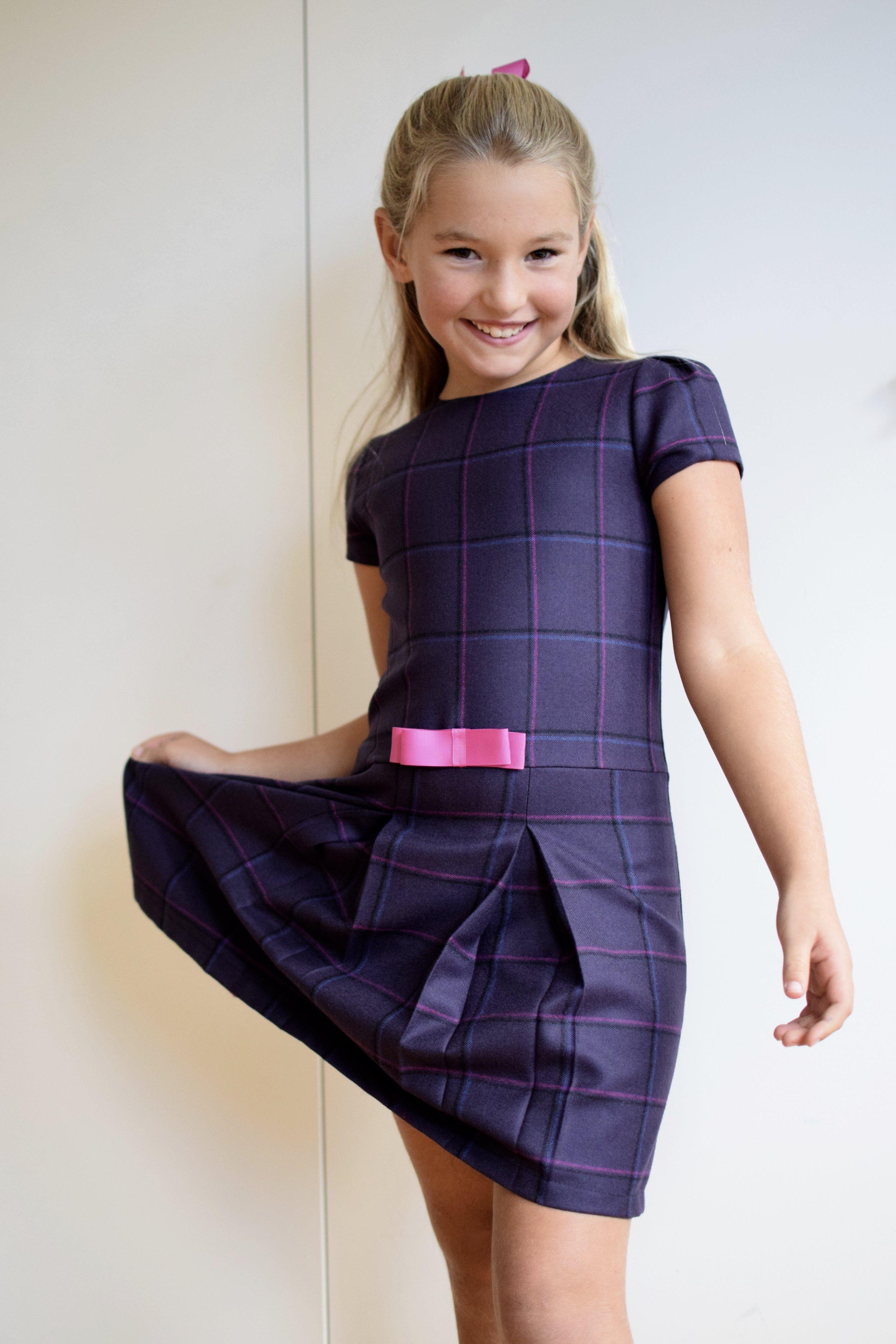 Pretty AW16 wool dress