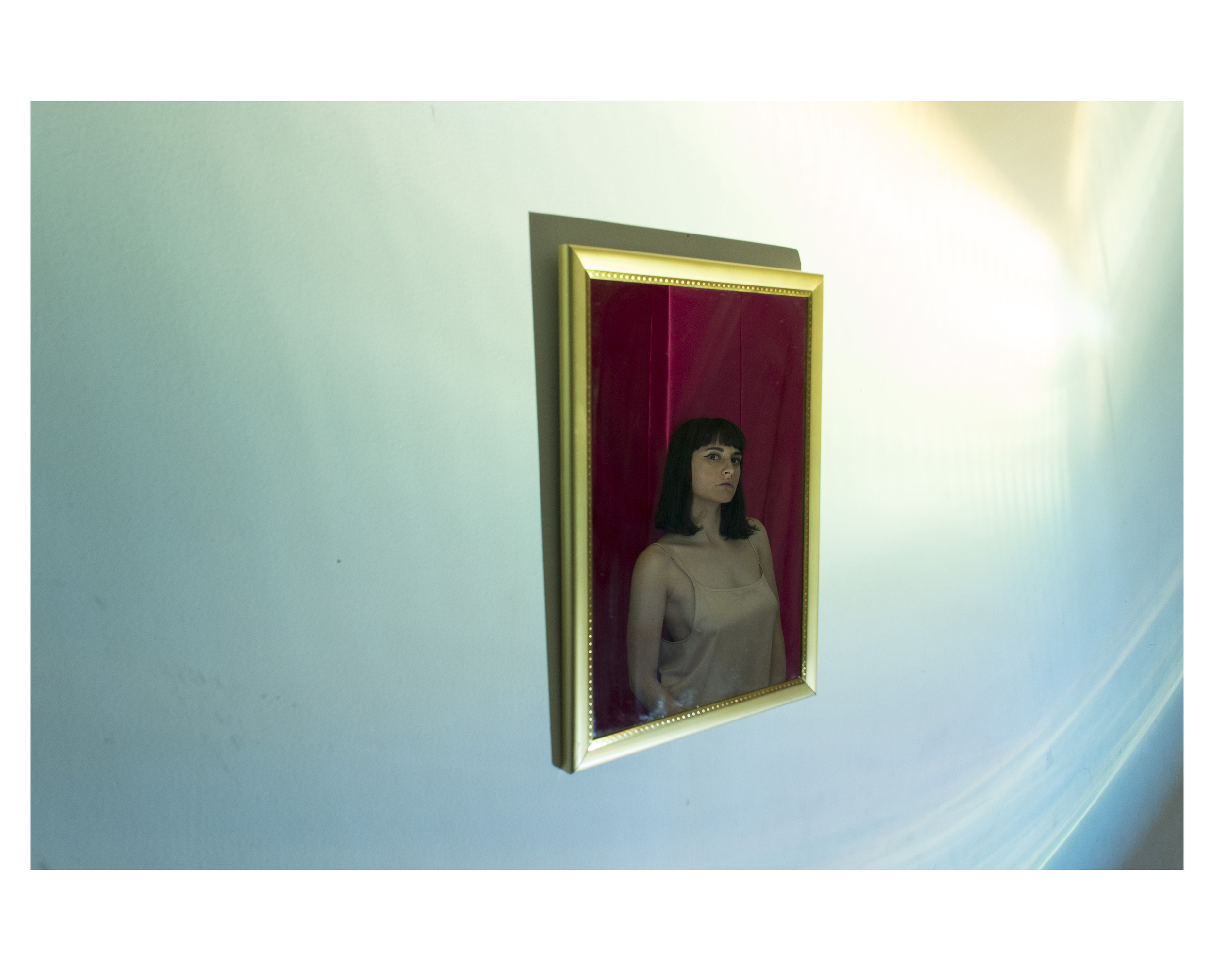 Jessi Lembo American, born 1993 (Untitled work from a series of self portraits),2015 Inkjet print on matte paper Courtesy the artist