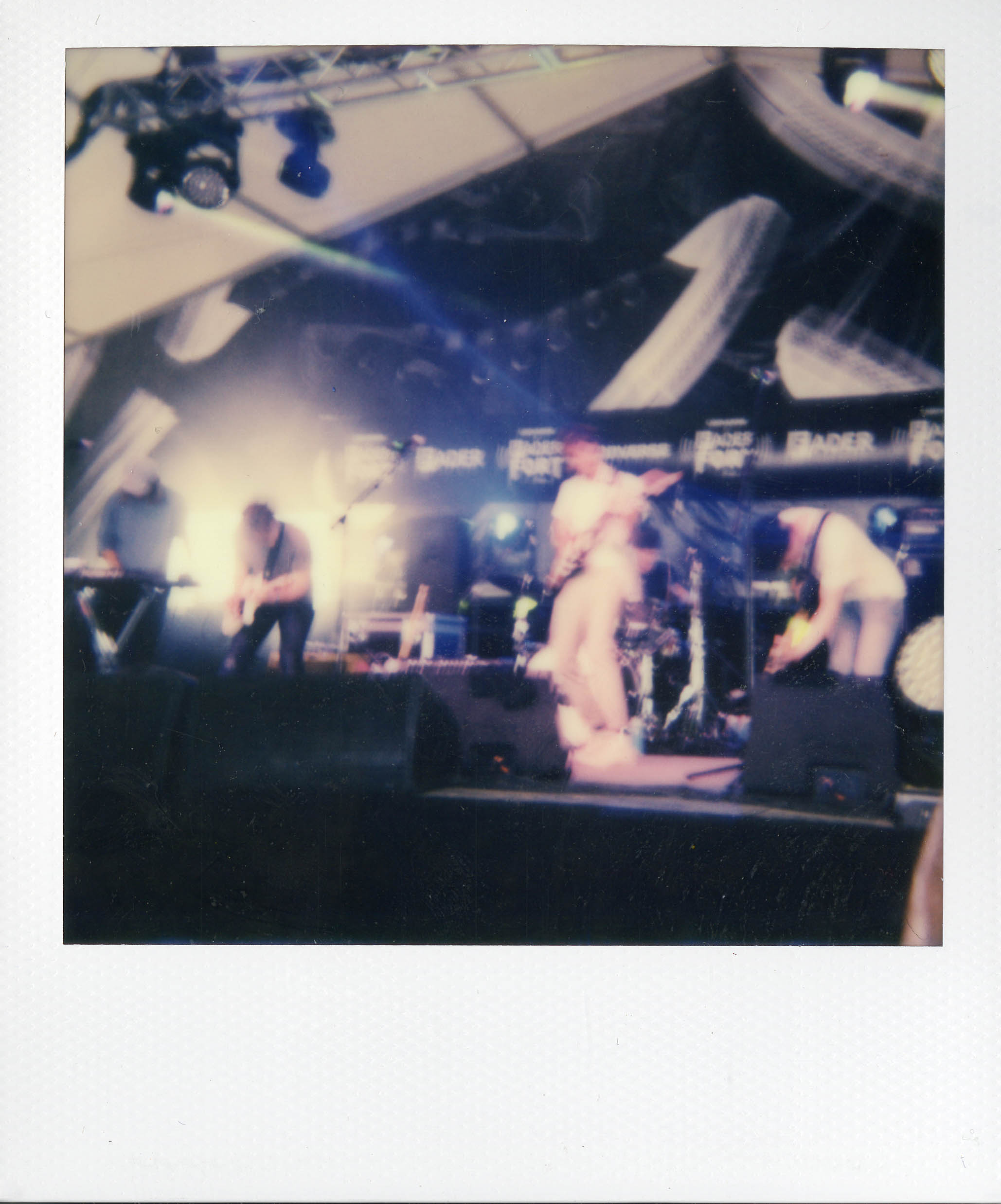 Day Wave  on stage at Fader Fort,  Photo: Rachel Cabitt