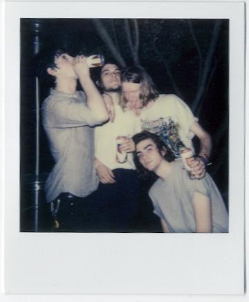 Acid Dad after their set at  Icenhauer's , Photo: Nat Leonard