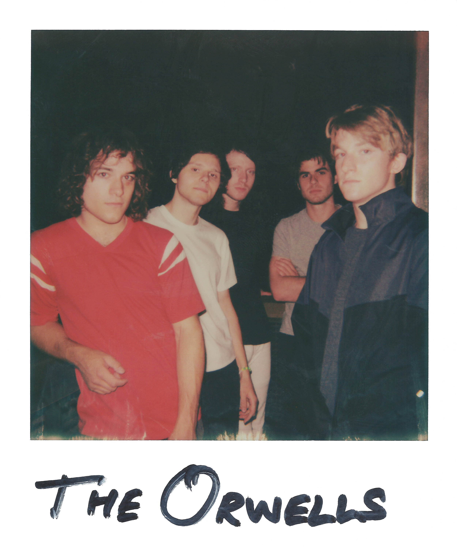 The Orwells pre-show