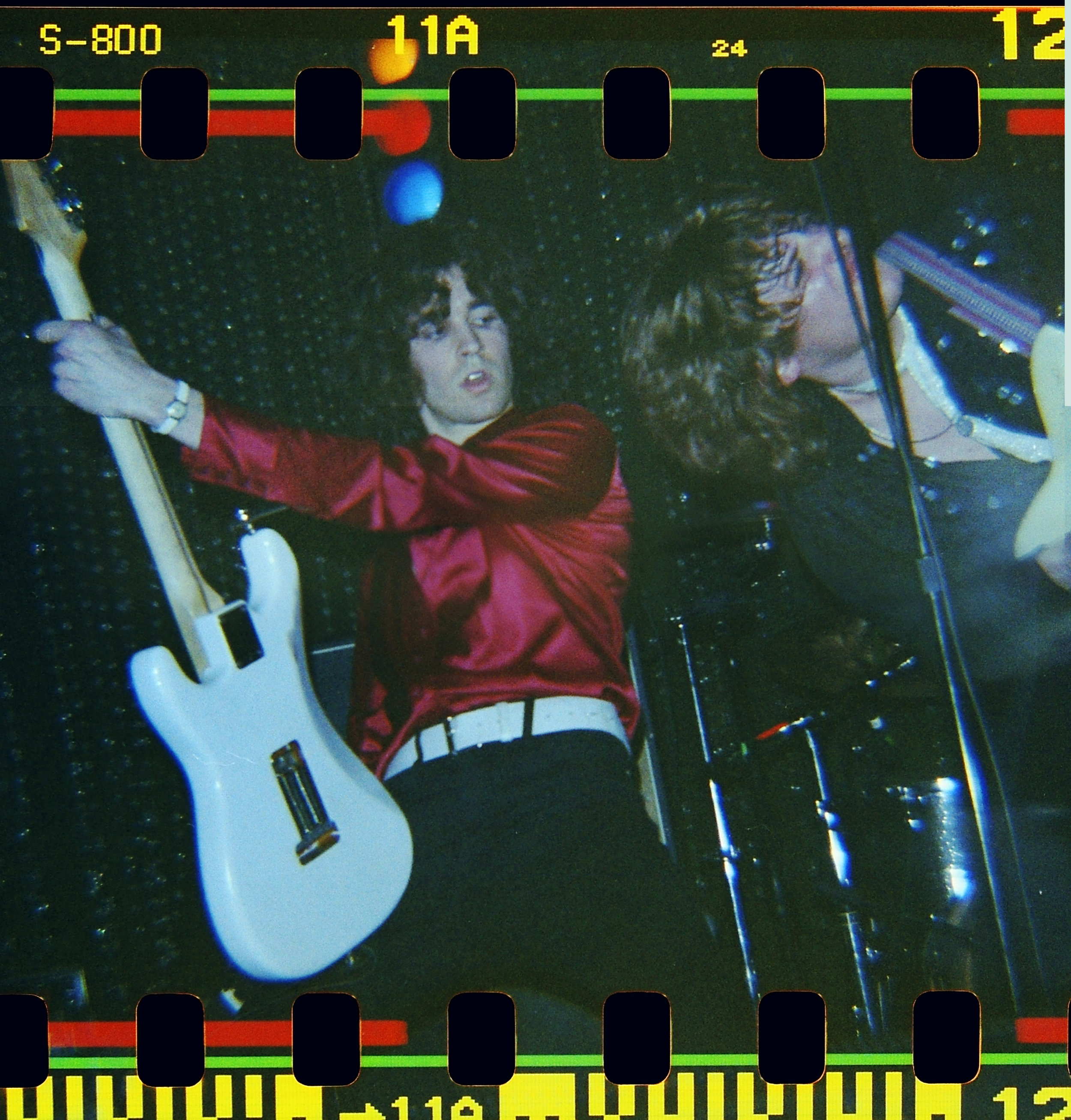 Guitarist Aaron Deming and singer Chris Greatti of Blame Candy