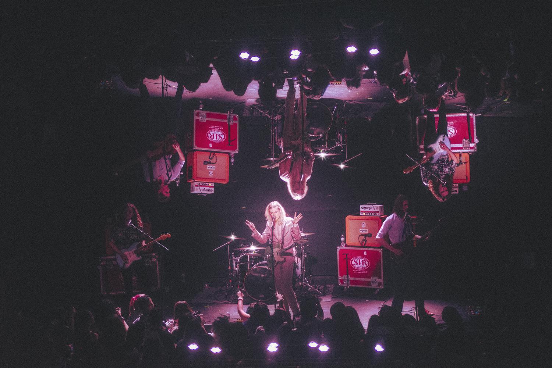 Sundara Karma performing at Rough Trade in Brooklyn in April.