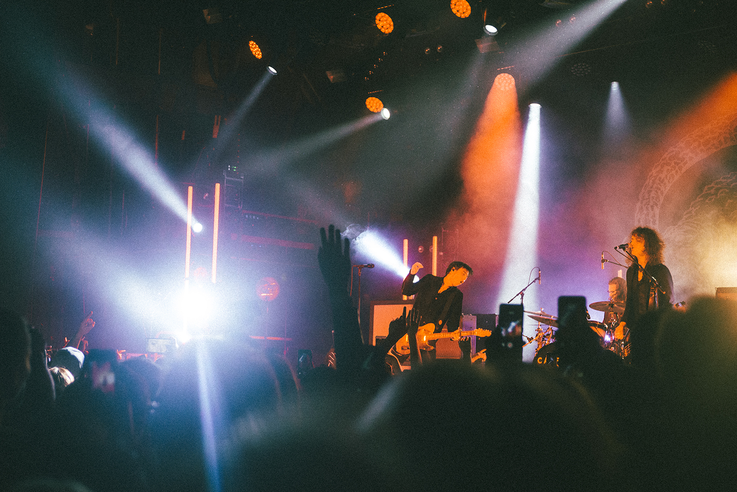 Catfish and the Bottlemen performing at Brooklyn Steel in May