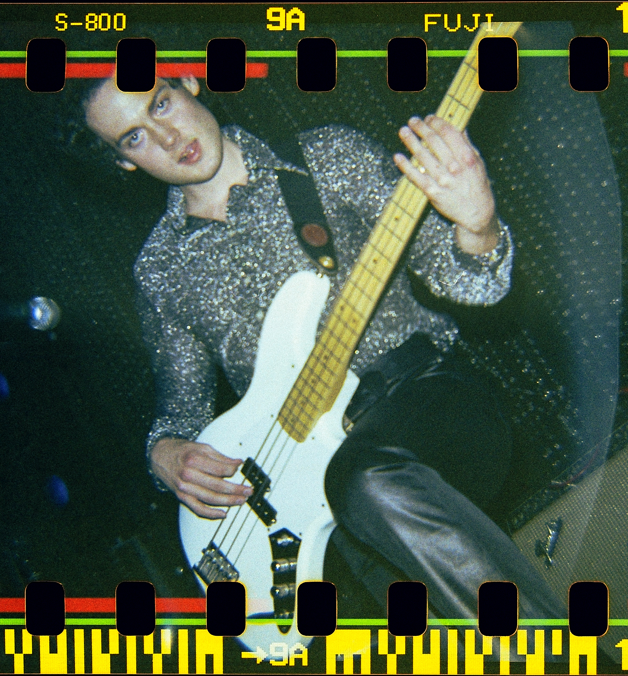 Bassist Ryan Wheeler of Blame Candy