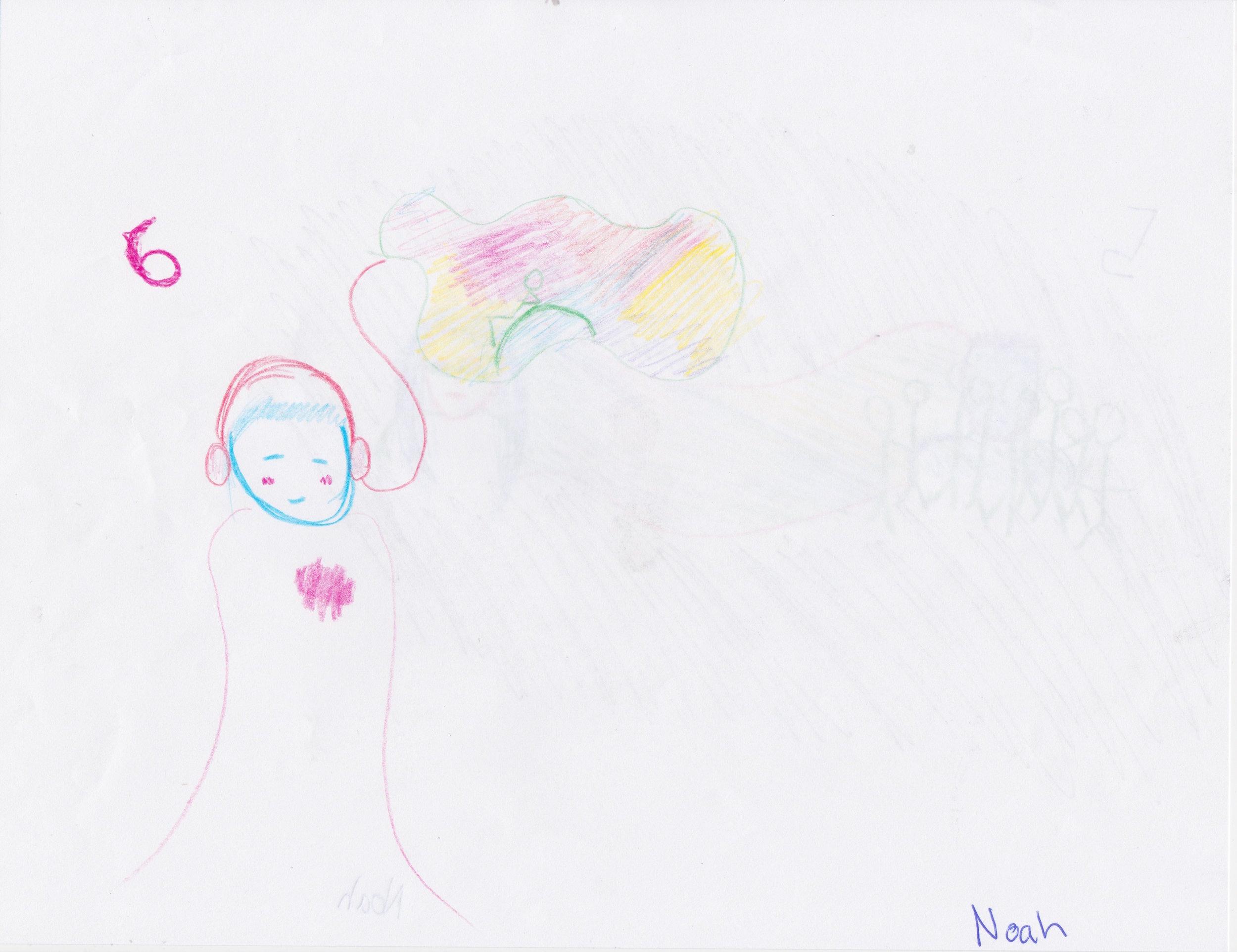 Illustrations by Noah Schifrin, Bassist