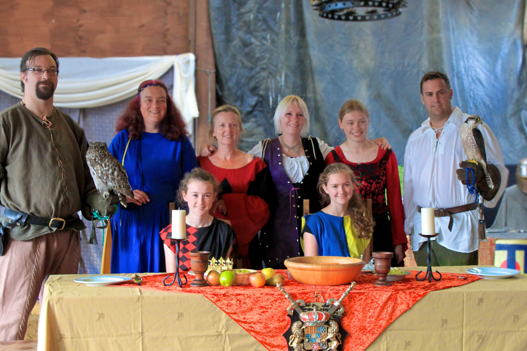 Terena & Northcote Volunteers at their Medieval Banquet Evening