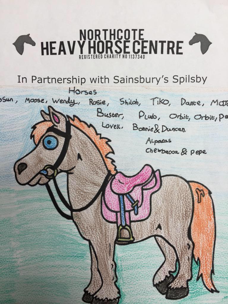 Sainsburys Charity Spilsby Northcote Heavy Horse.JPG