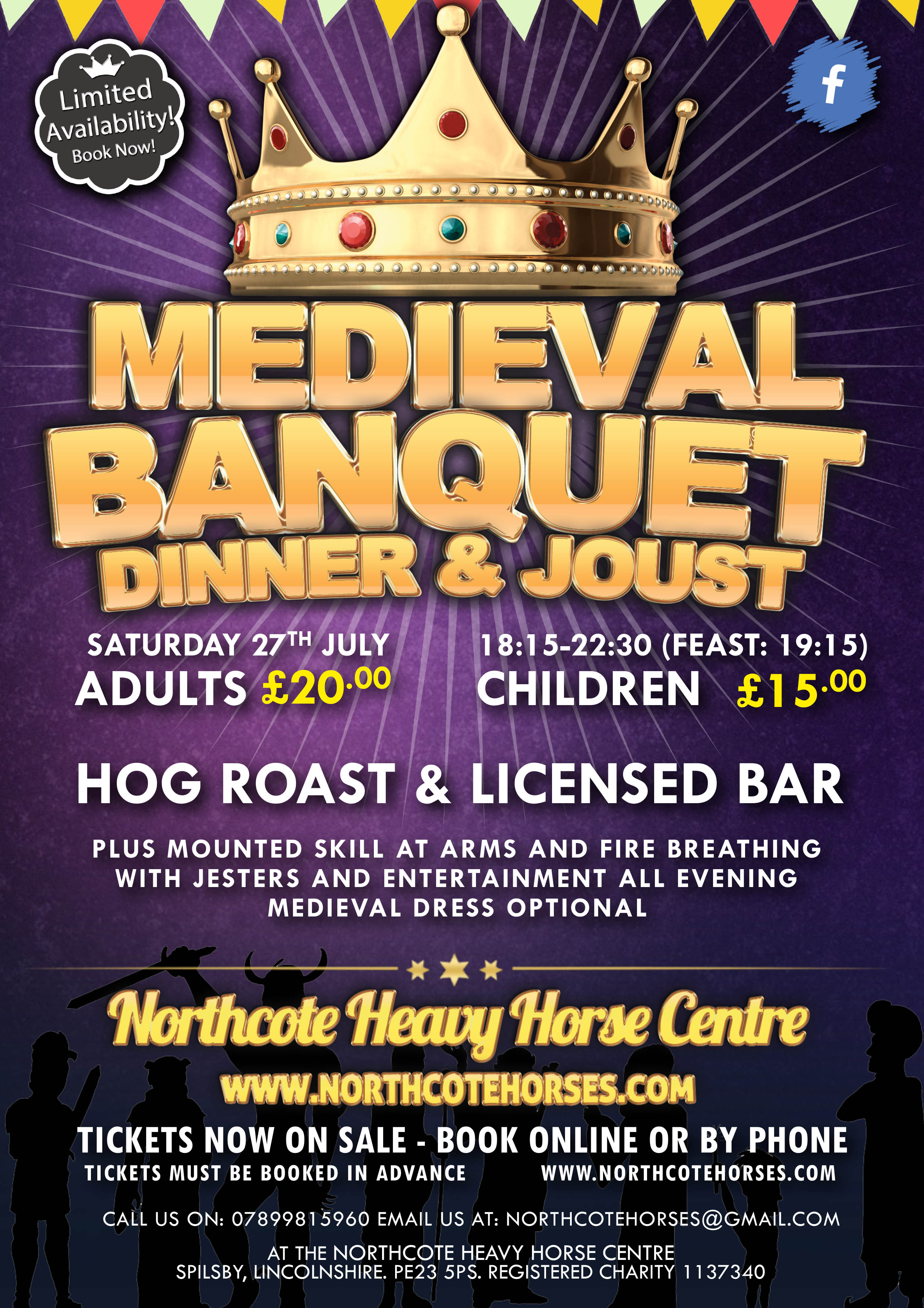 Medieval Banquet Poster May 2014