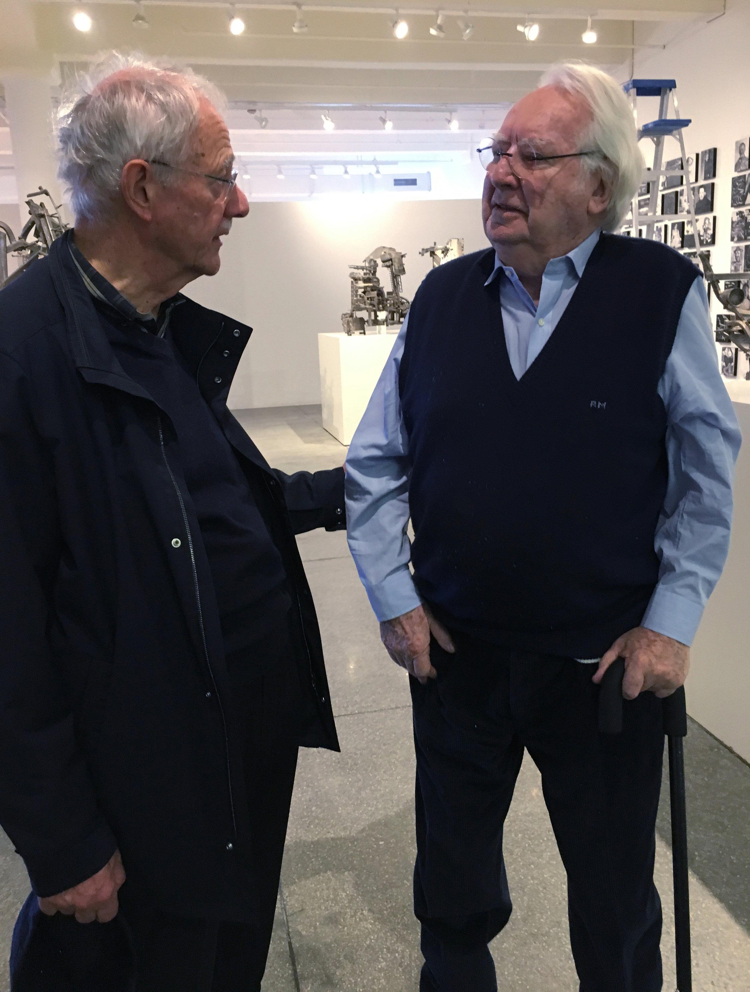 Mr. Karlheiz Essl and Mr. Richard Meier