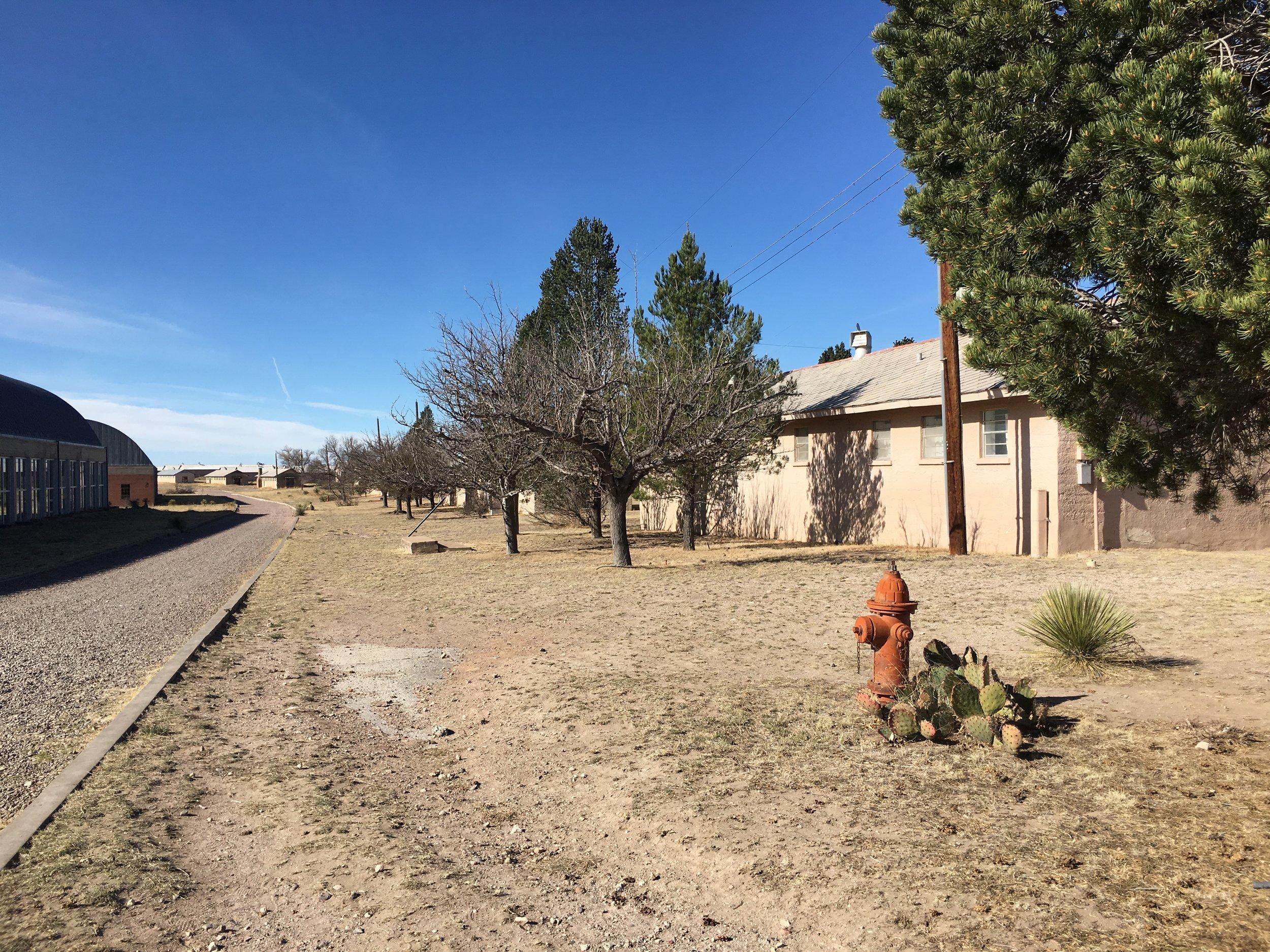 Chinati Foundation grounds, Marfa, Texas