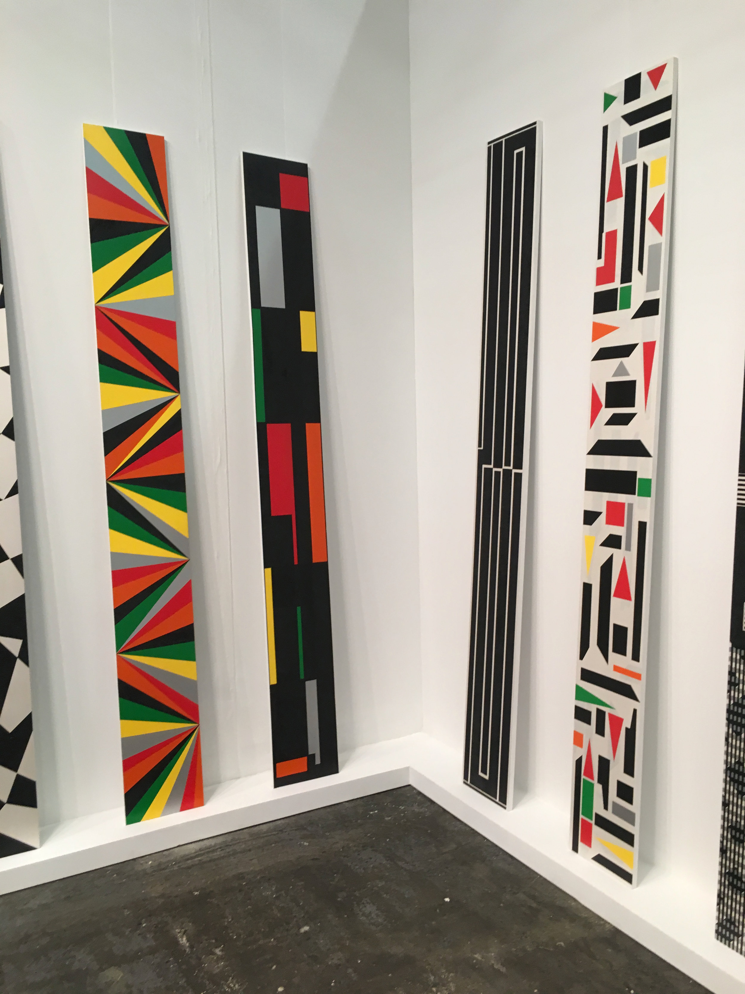 Rico Gatson solo presentation at Ronald Feldman Fine Art, The Armory Show NYC