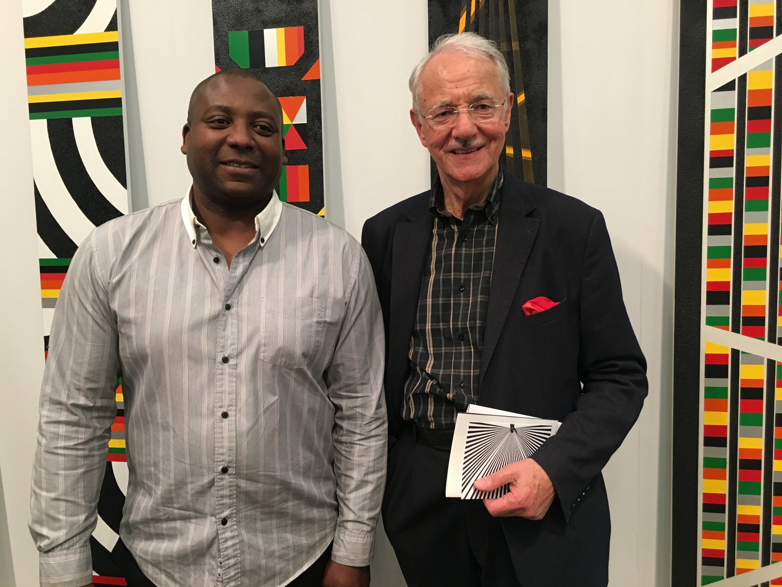 Rico Gatson and Mr. Karlheinz Essl, Ronald Feldman Fine Art, The Armory Show NY