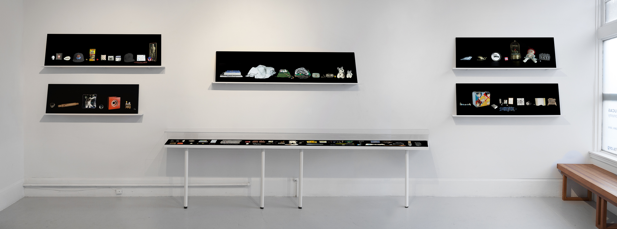 Kija Lucas, installation at Random Parts
