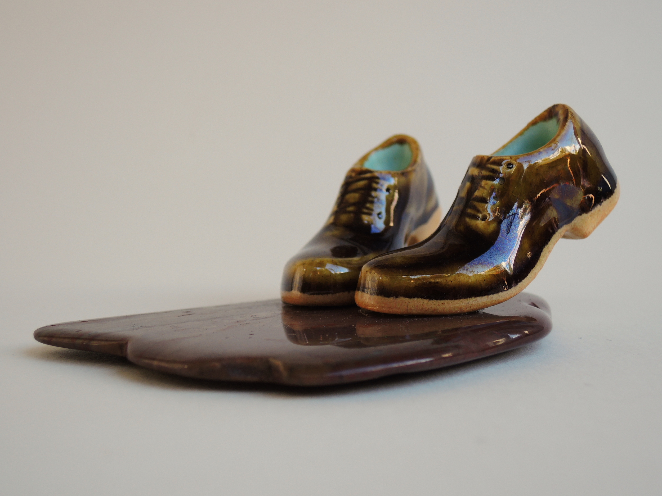 Carmen Lang, Stepping stone ,Stoneware 1 ¼ x 2 ¼ x 4 inches,2015
