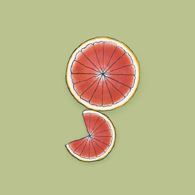 G is for grapefruit! All I wanted the entire time I was drawing this was a bruléed grapefruit. I love those fancy little spoons 🤩 - - - #36days_g #36daysoftype #foodillustration #typism #handtype #calligritype #digitalillustration #atxartist #designinspiration #typegang #letteringart #letterarchive_g