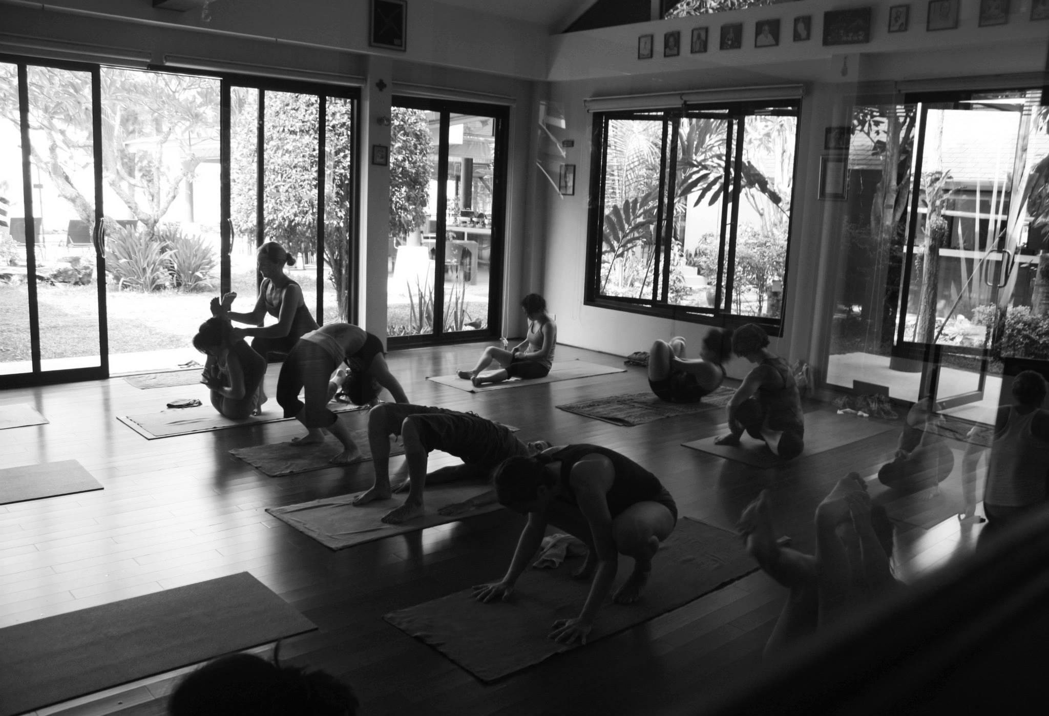 Mysore practice at Samahita Retreat in Koh Samui, Thailand.