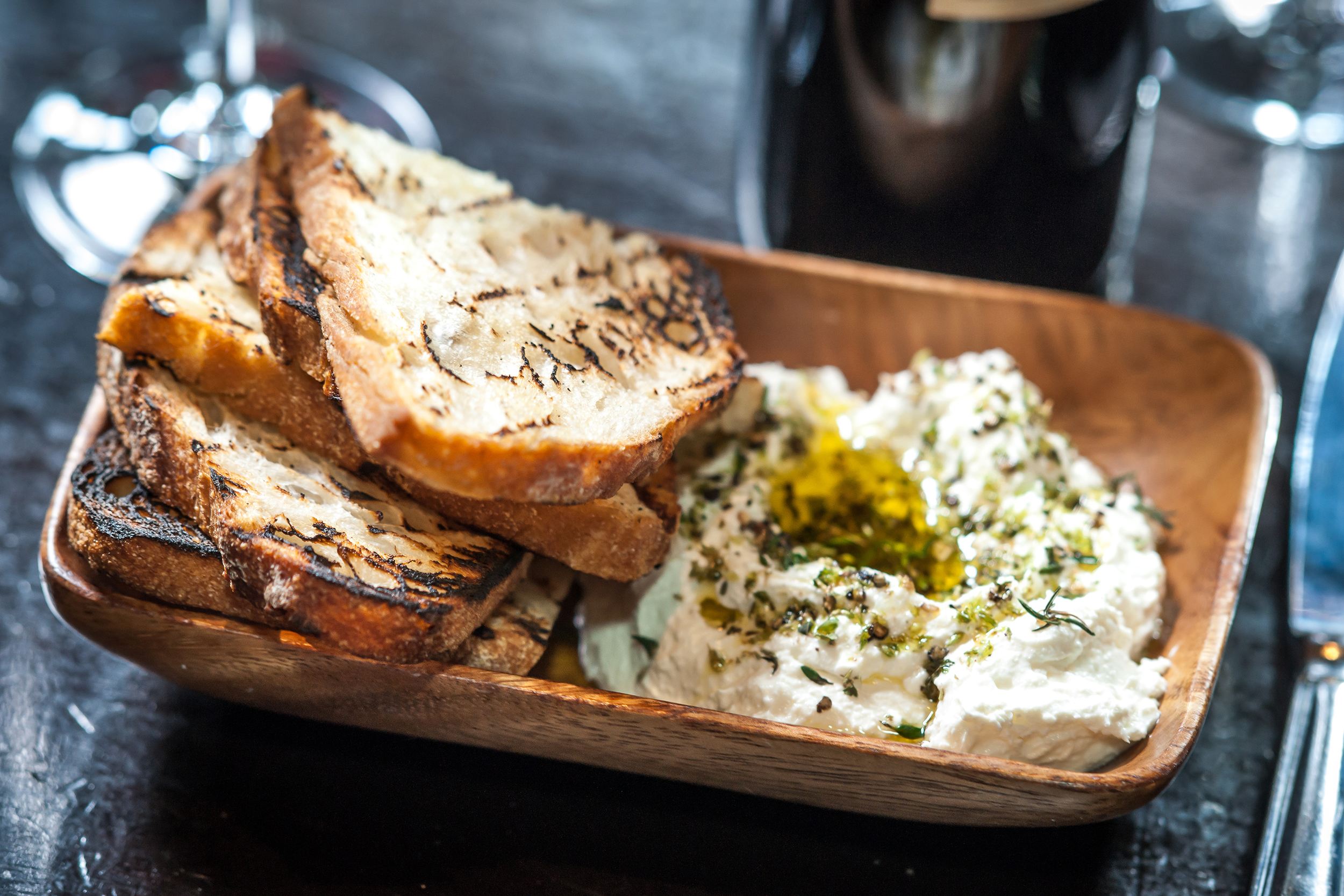Sheep's Milk Ricotta & Grilled Bread