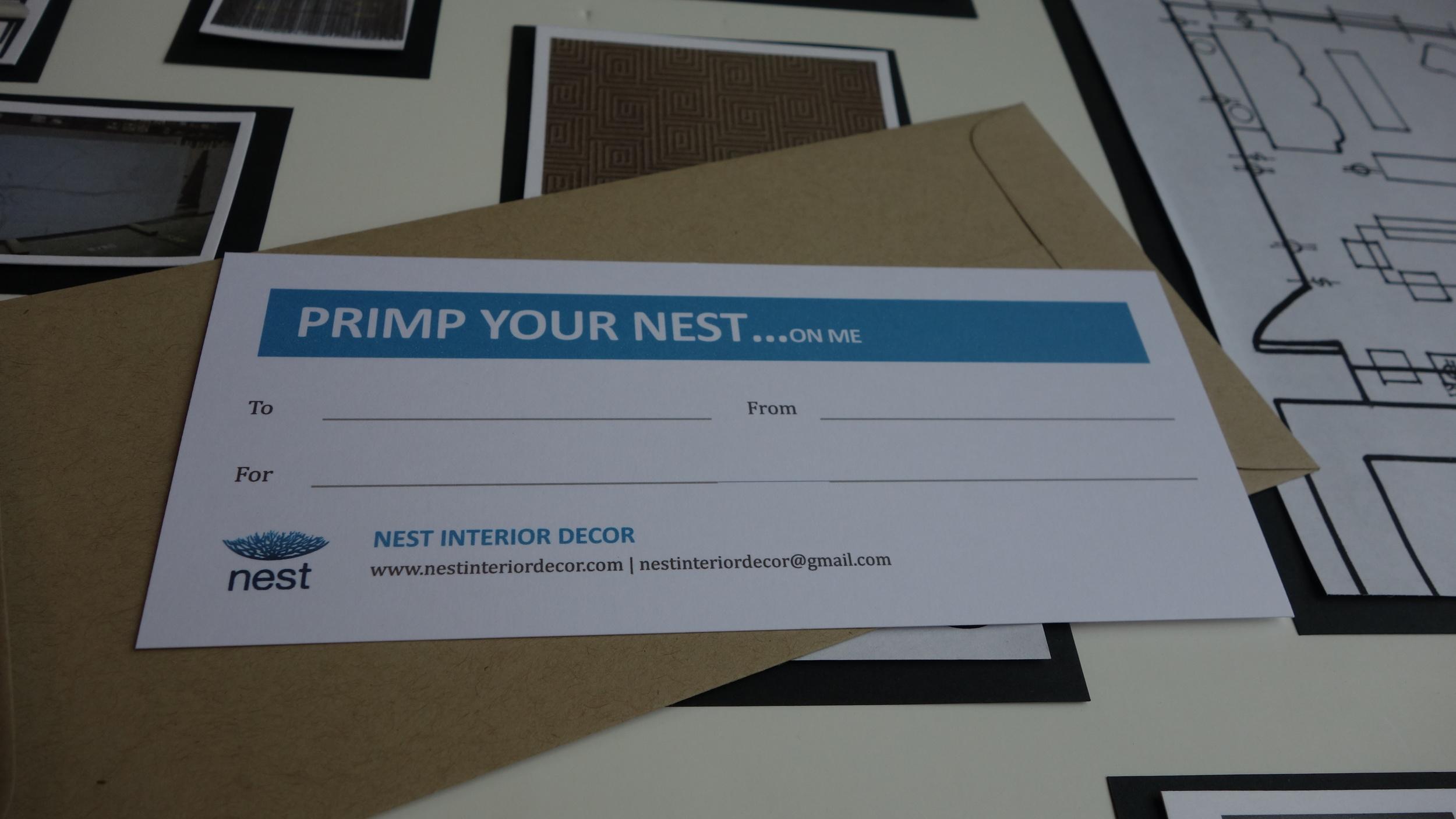 Nest Gift Certificate