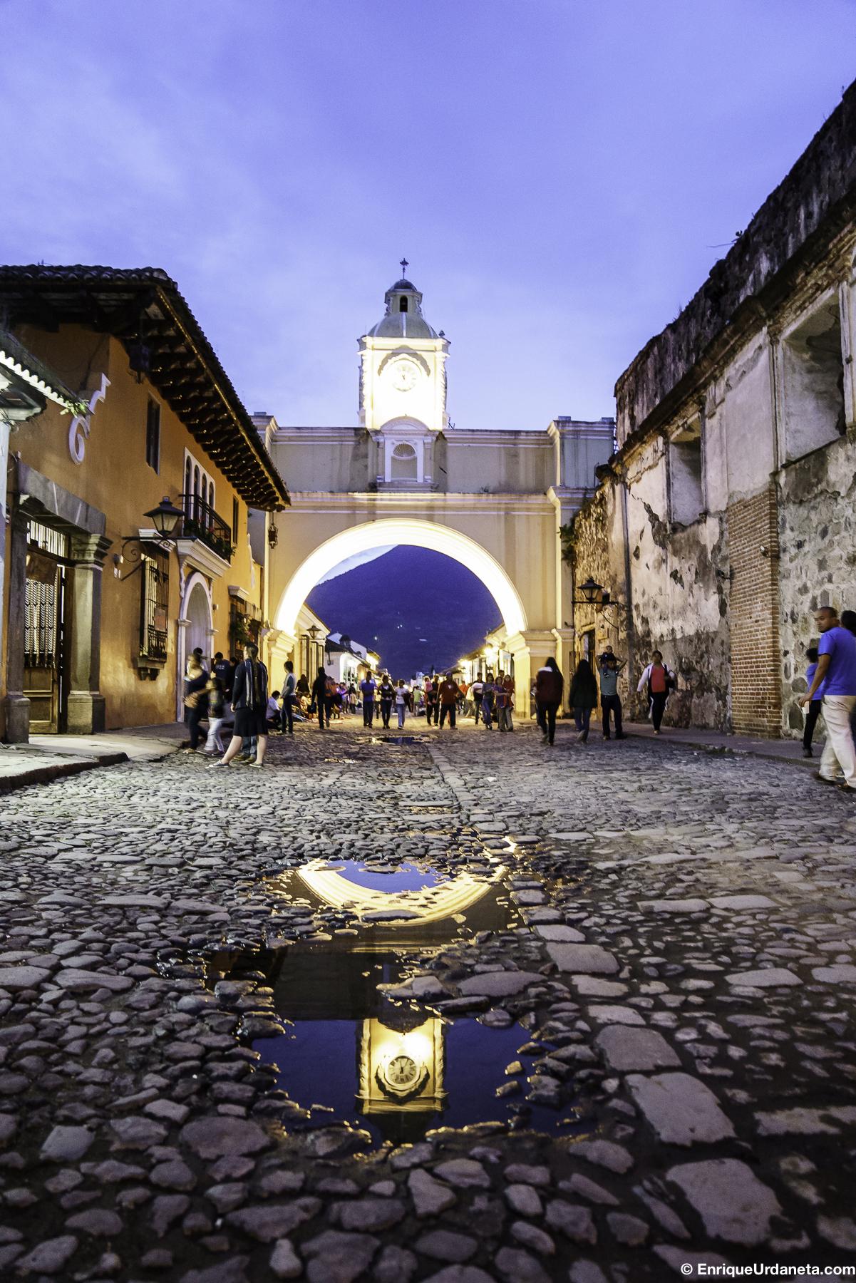 Arco de Santa Catalina en La Antigua, Guatemala