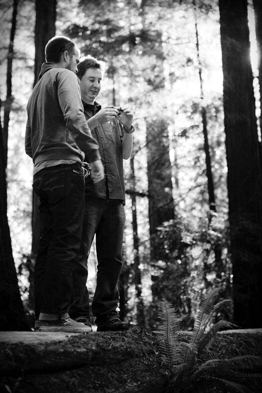 Matt and Danny - The Avenue of Giants