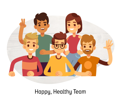 Happy, Healthy Team