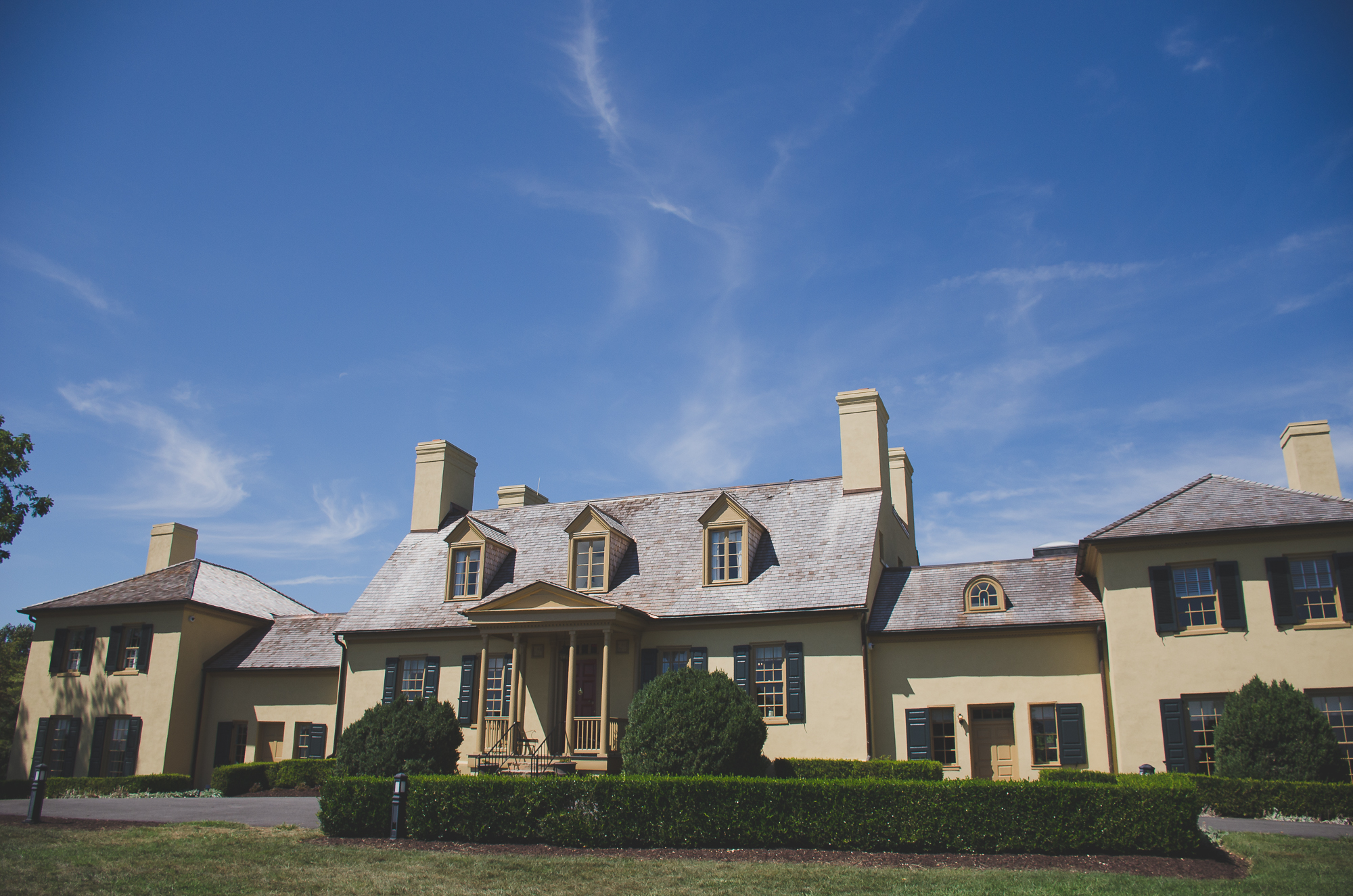 Belmont Manor & Historic Park Wedding Photo