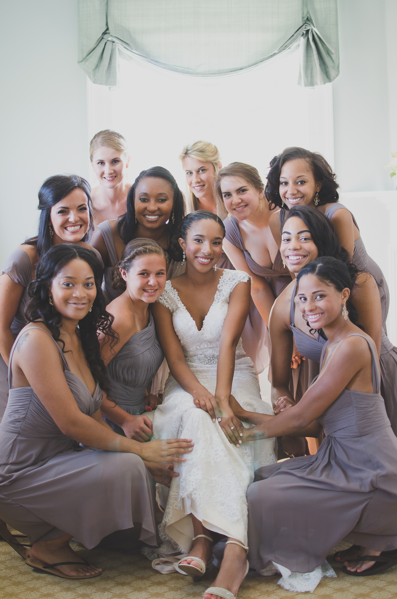 Belmont Manor & Historic Park Wedding bridesmaids Photo