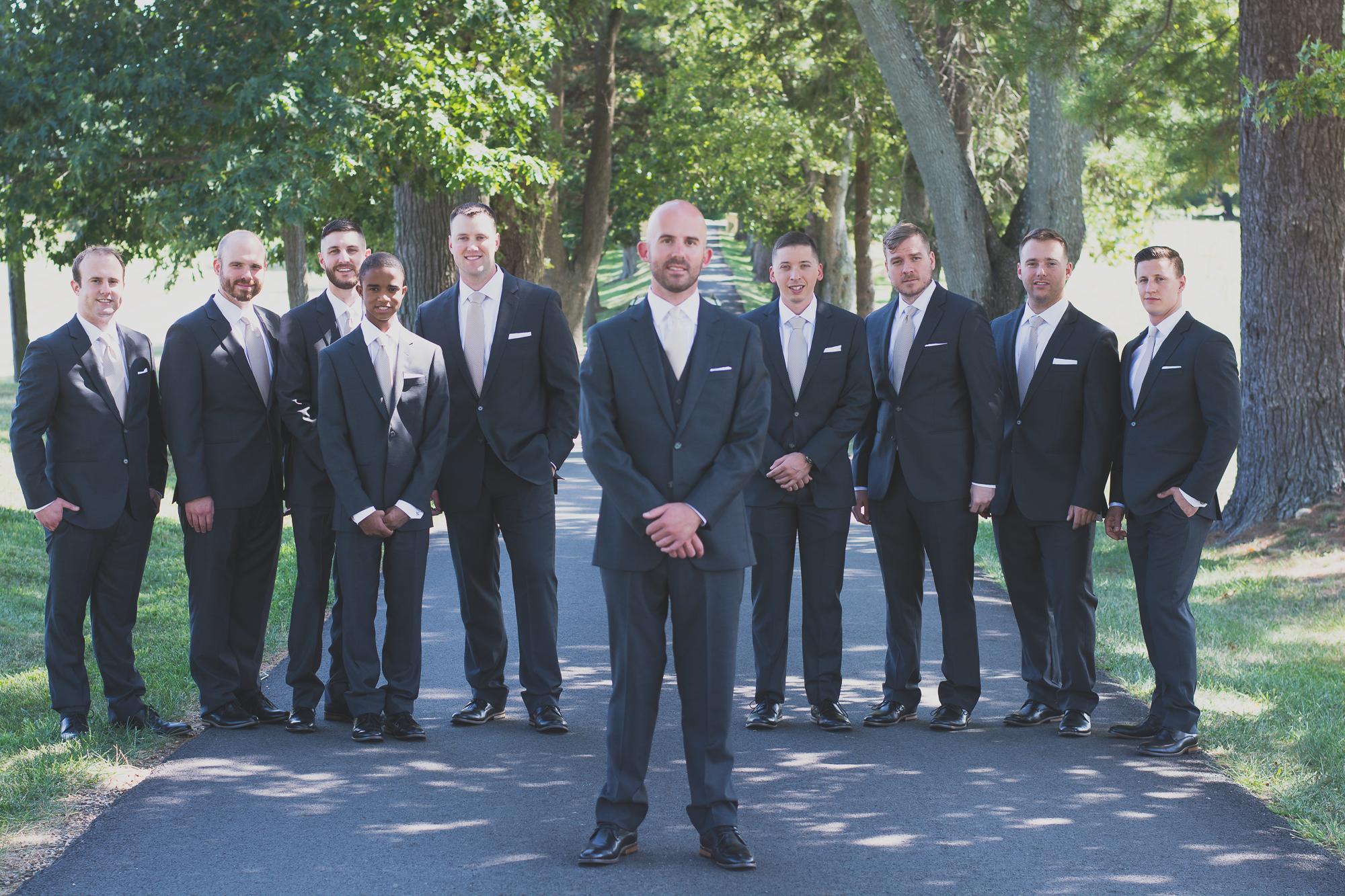 Belmont Manor & Historic Park Wedding Groom Photo