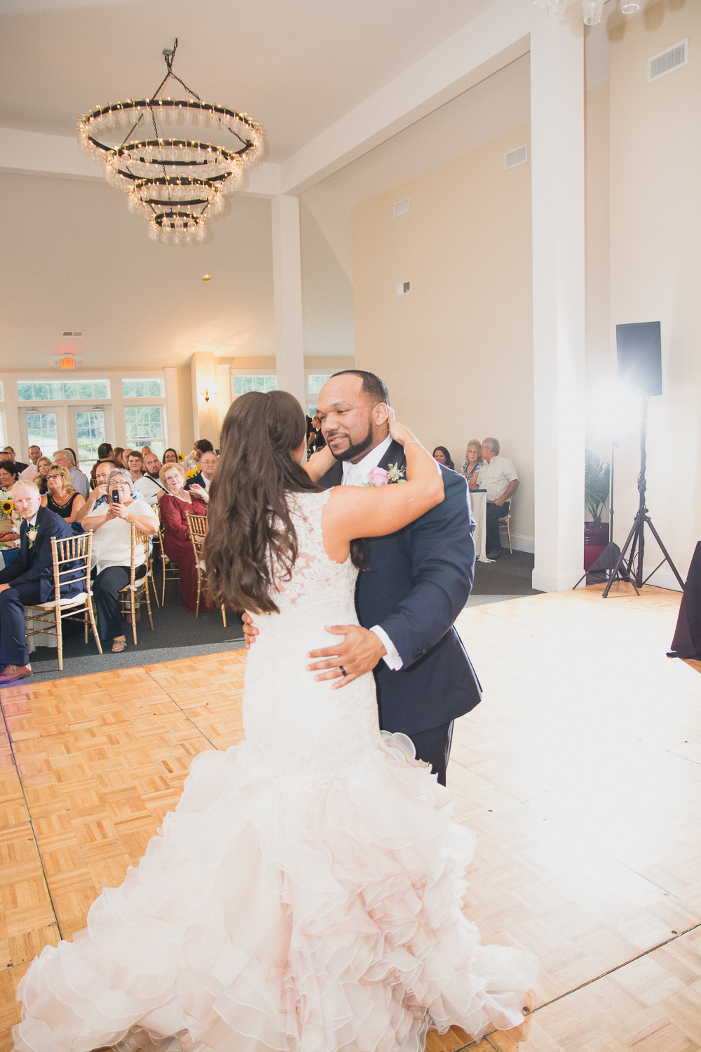 Springfield Manor Winery & Distillery Wedding Bride and Groom First Dance Photo