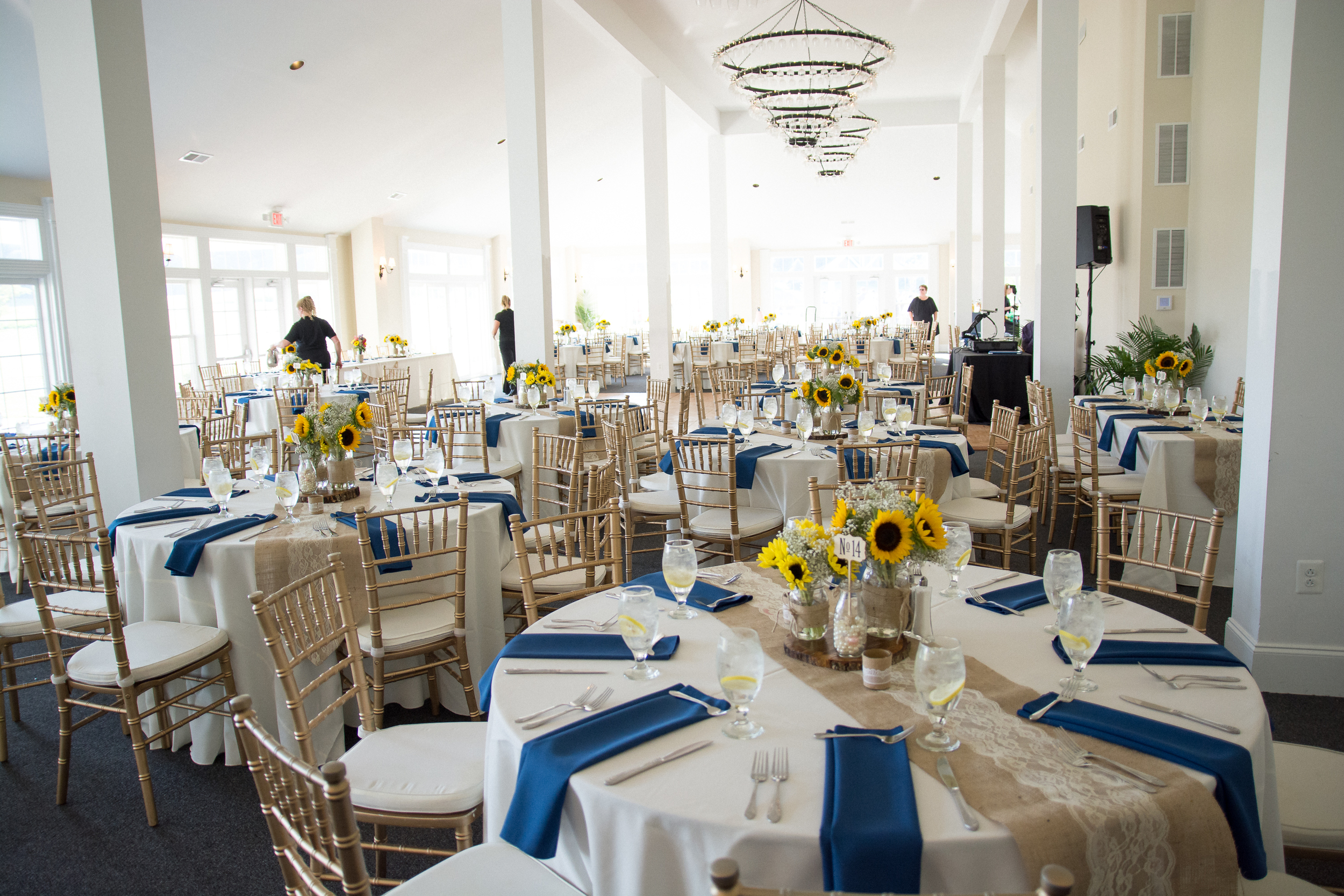 Springfield Manor Winery & Distillery Wedding Reception Photos