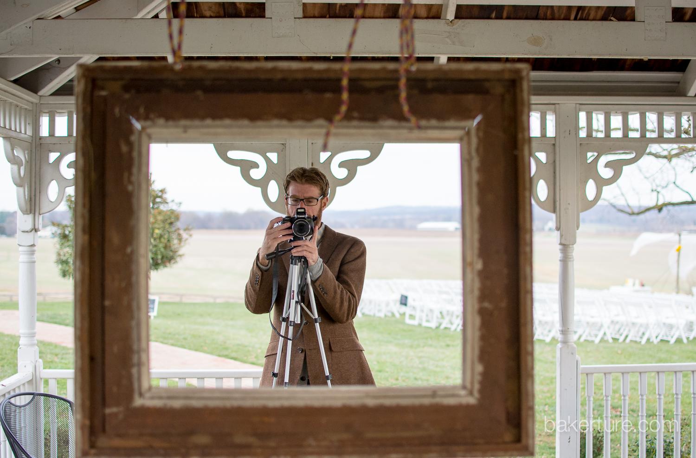 Walker's Overlook Wedding groom Photo