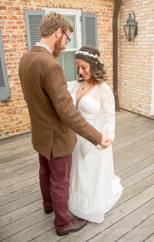 Walker's Overlook Wedding bride and groom Photo