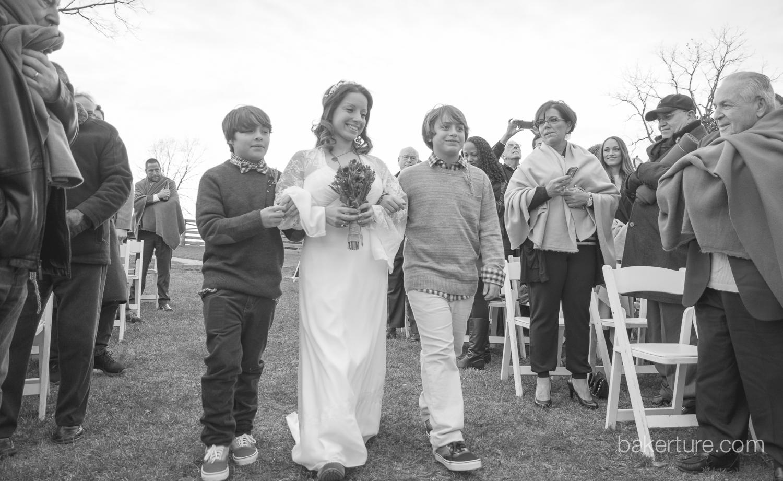 Walker's Overlook Wedding ceremony Photo