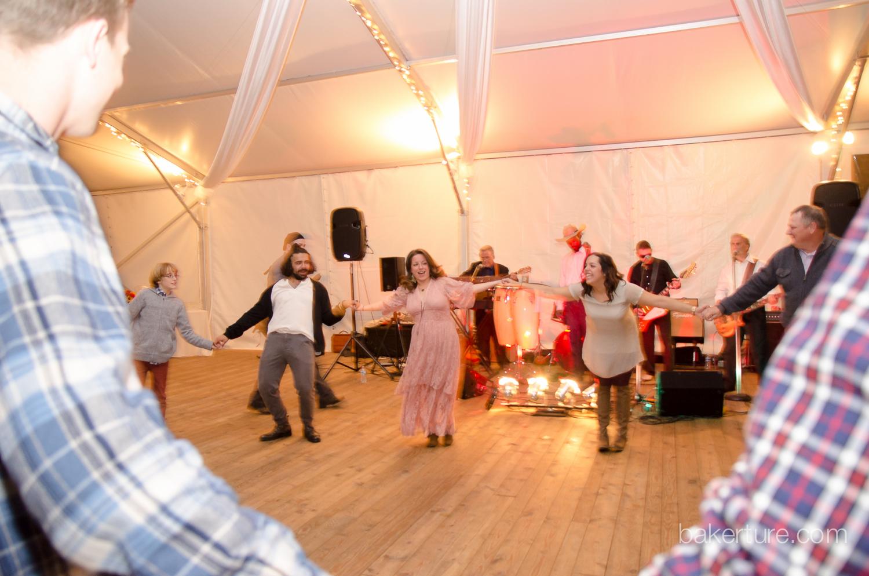 Walker's Overlook Wedding dance reception Photo