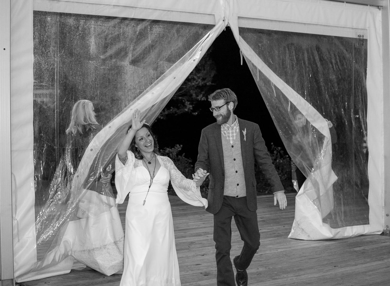 Walker's Overlook Wedding reception Photo