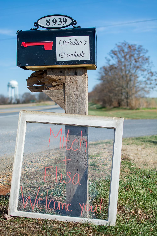 Walker's Overlook Wedding entrance Photo