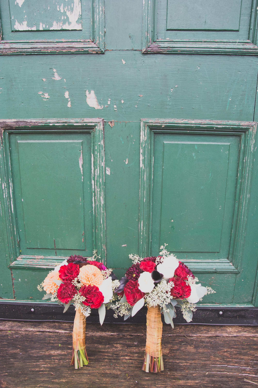 The Glasgow Farm Wedding flowers Photo